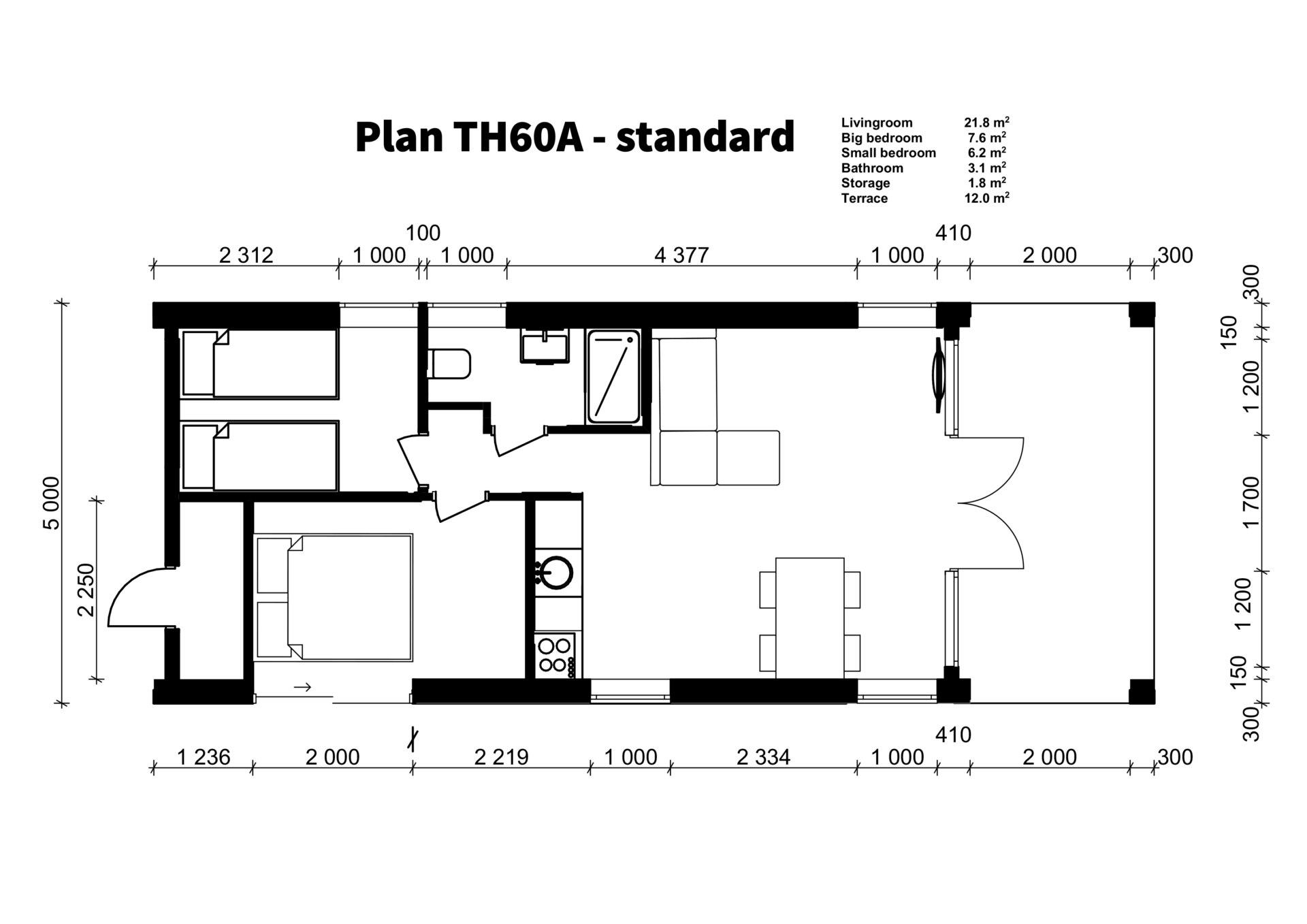 TH60A - standard plan