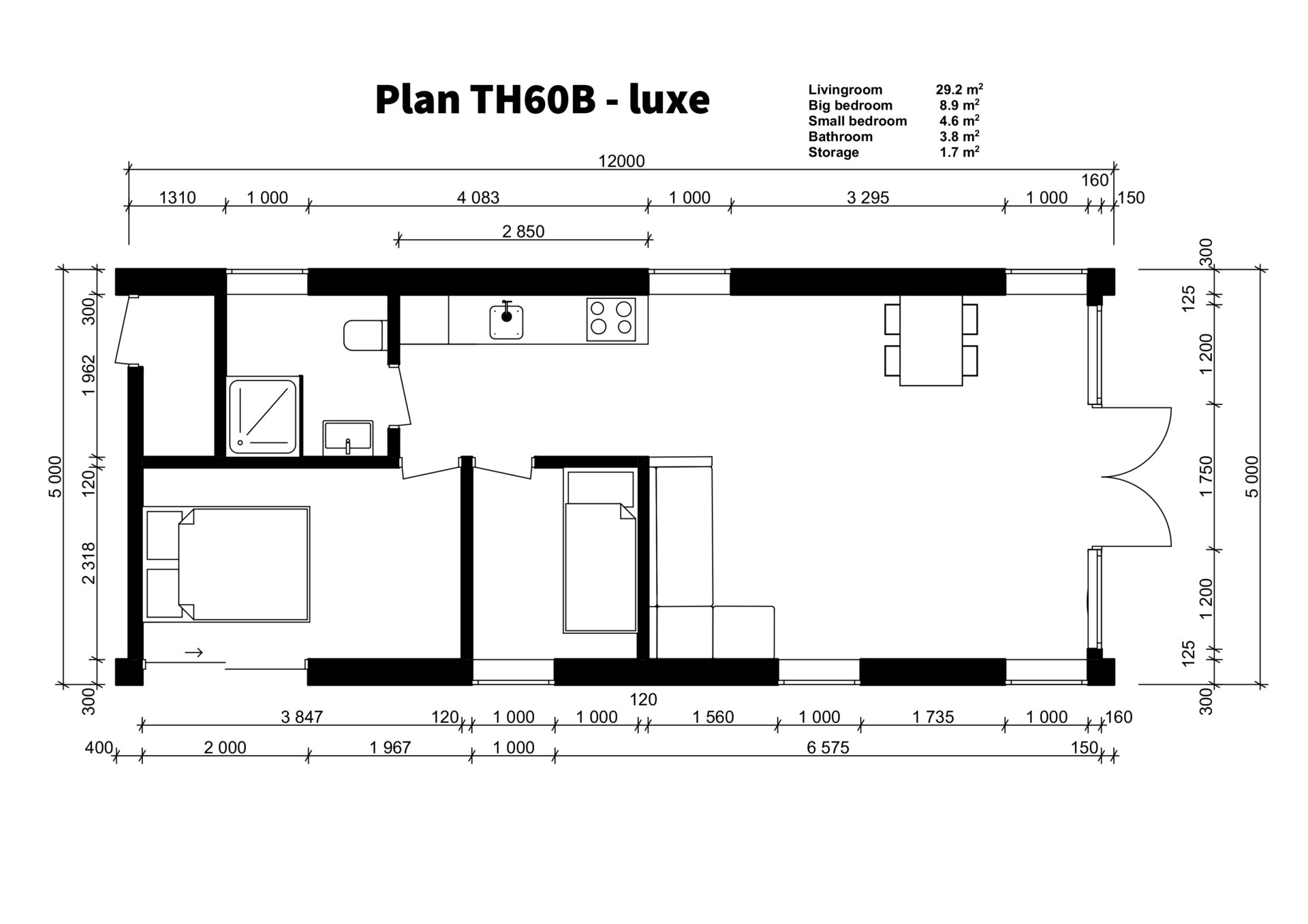 TH60B - luxe plan