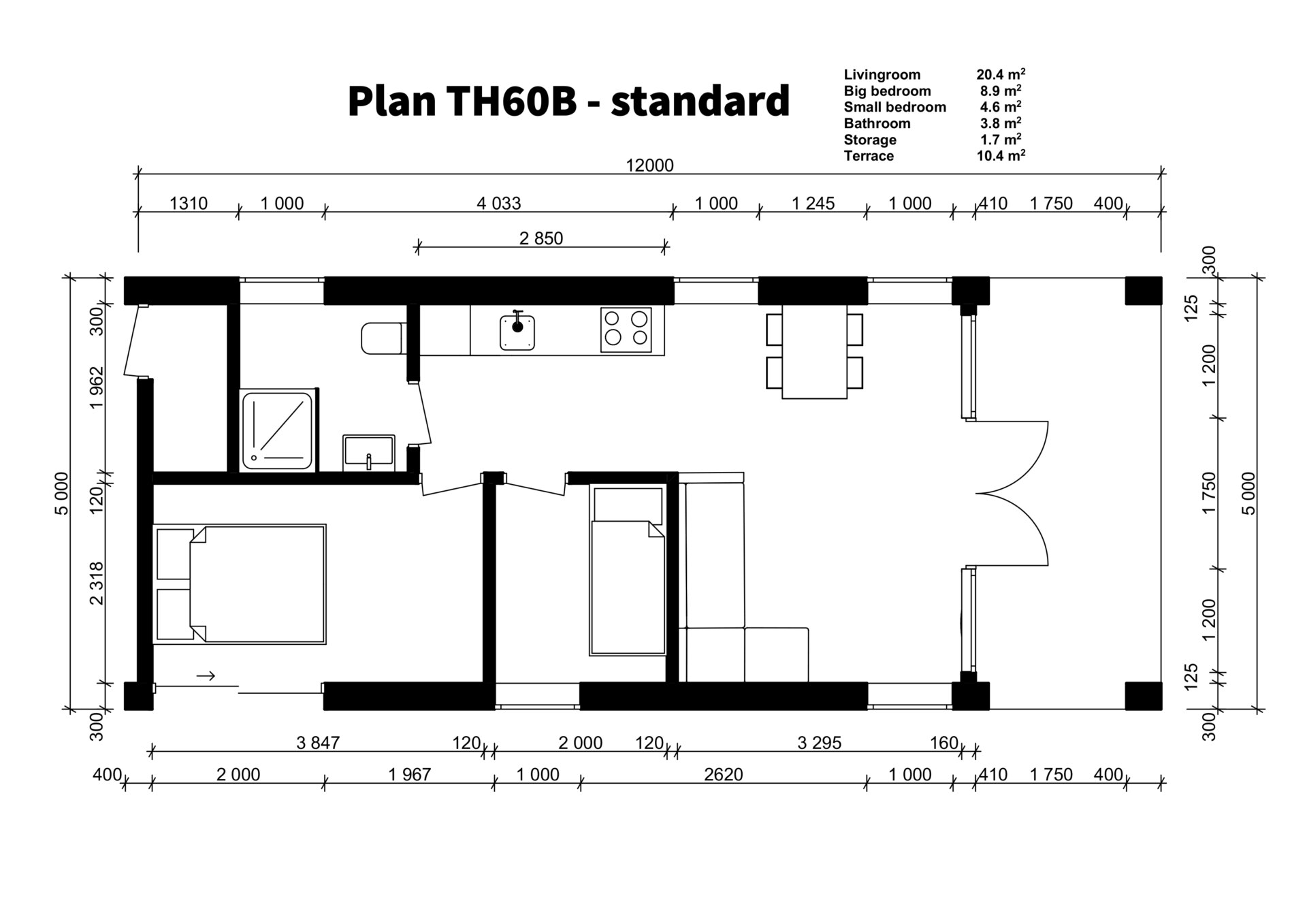 TH60B - standard plan