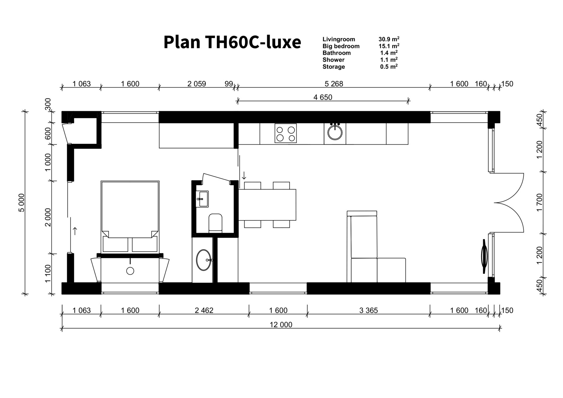 TH60C - luxe plan