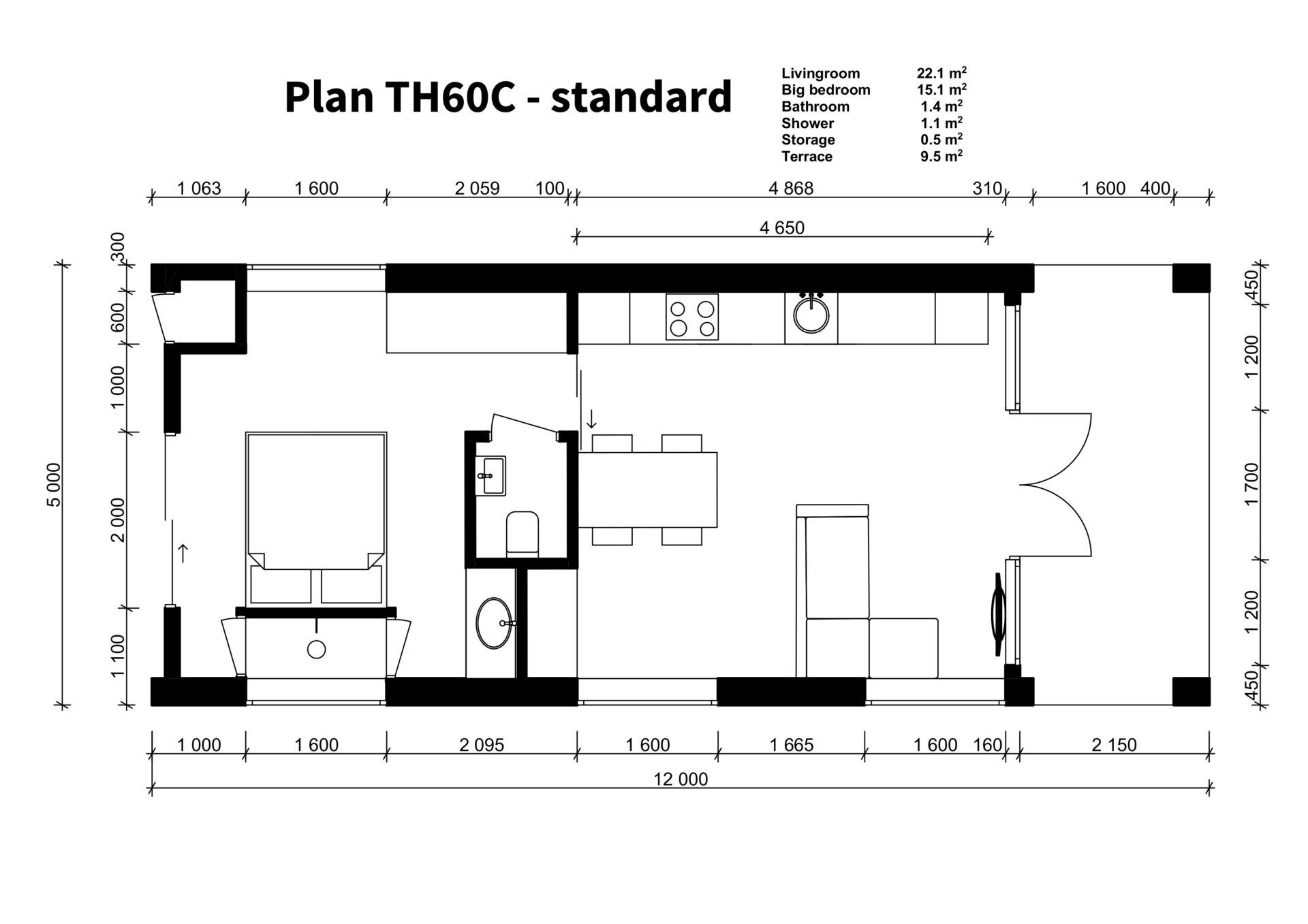 TH60C - standard plan